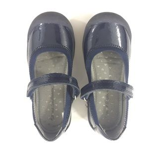 Hanna Andersson 10.5 Blue Patent Mary Jane Shoes